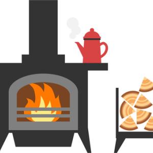シーズンインの慣らし焚き始める。