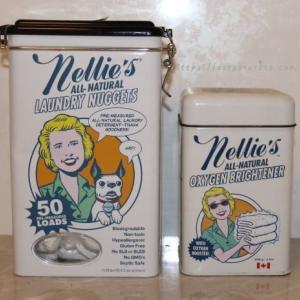 レトロなおしゃれ缶がちょっと悲しいことに。Nellie'sランドリーパケット
