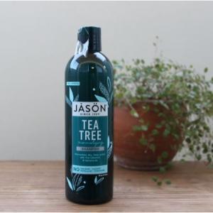 夏の頭皮の悩みをすっきり解消 Jason Naturalティートリーシャンプー