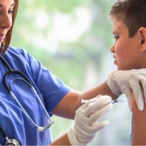 インフルエンザの予防接種♪