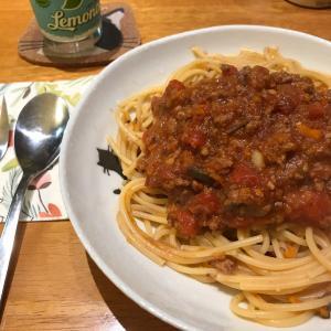 スパゲティミートソース♪