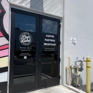 新たに見つけたカフェ巡り@ Loin & Lamb Coffee Roasters♪