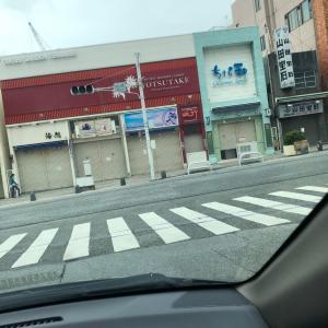 昨日の国際通り!!!沖縄