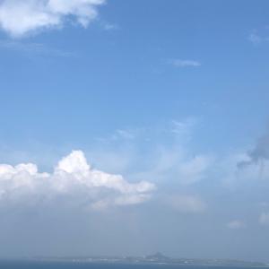 台風10号無事通過しました♬ 沖縄