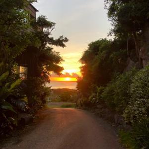 今日の夕日が眩しい♬沖縄