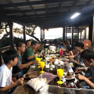 夏休みはBBQタイム♬沖縄の宿