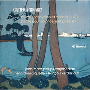 ロパルツ ヴァイオリン・ソナタ第1番:天と地と、祈りと踊りと、音楽と
