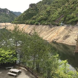 宇連ダムと大島ダム