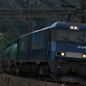 9月14日の貨物列車2080レ EH200形20号機 2019