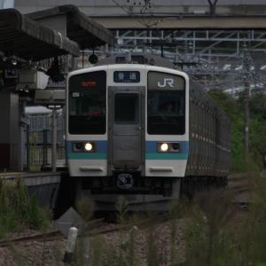10月19日の相模湖発の普通列車533M 2019