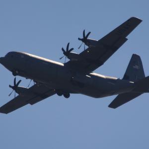 2020年3月に撮影した C-130