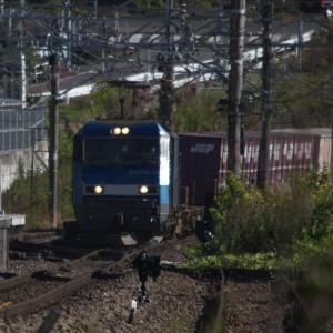 11月14日の貨物列車2083レ EH200形22号機 2020