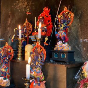 五大明王様の護摩修行会