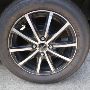 梅雨に合わせて、タイヤ替えました。買えました。