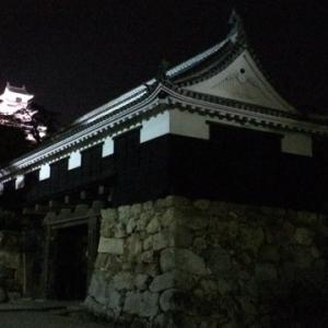 高知城 夜景(旅行記)