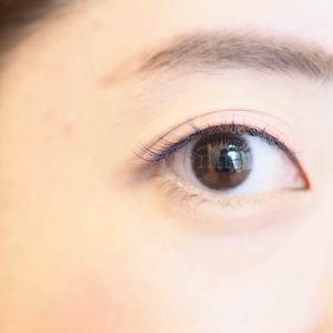 ピンク系メイクにぴったりのカラーエクステ♡ 【恵比寿 マツエク&まつ毛パーマ】