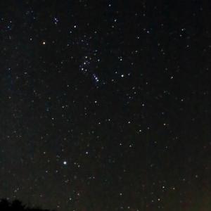 医王山から撮る未明の写真