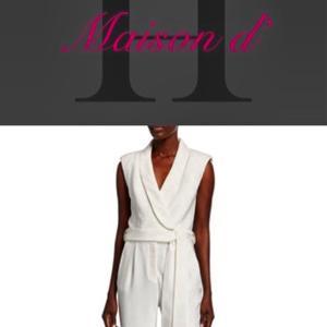 大人な仕事服の新定番「ジャンプスーツ」:会員サイト『Maison d' H』本日最新記事掲載!
