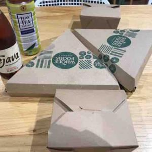 Whole Foodsでカリフラワークラストピザを食す♪