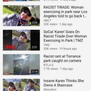 アジア人の多いトーランスで白人女性がアジア人を差別する動画がニュースになる!