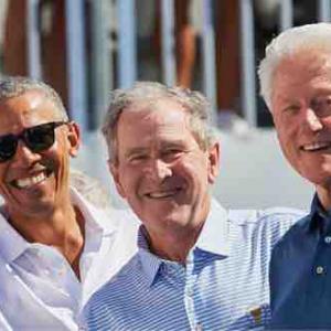 3人の元大統領、COVID-19ワクチン受けるってよ!
