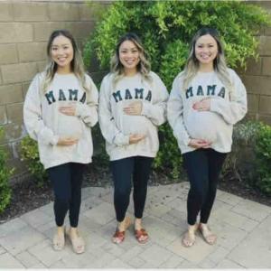 たまにはおめでたい話題もないとね。三つ子姉妹が同時に妊娠@オレンジカウンティ♪