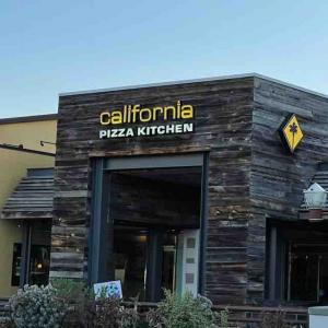 California Pizza Kitchenのダイニングインで、2年ぶりにディナーを♪