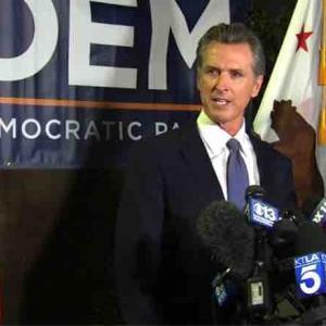 カリフォルニア州知事リコール選挙結果。ニューサム氏続投!