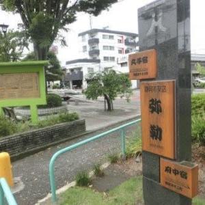 安倍川餅(東海道歩き旅・駿河の国)