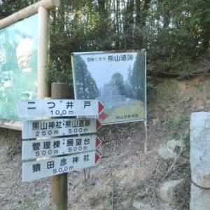熊山遺跡(赤穂線・乗潰しの旅)