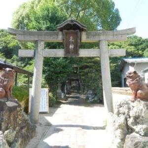天津神社と大窯跡(赤穂線・乗潰しの旅)