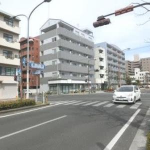 鶴見橋(岡山市内路面電車・番町線)