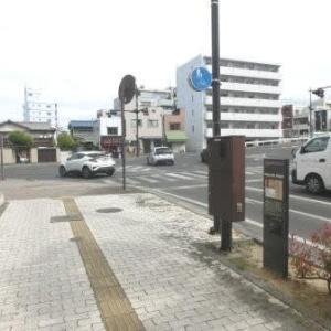 番町線の終点 (岡山市内路面電車・番町線)