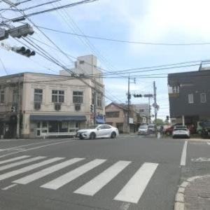 西大寺鉄道への乗換え (岡山市内路面電車・番町線)