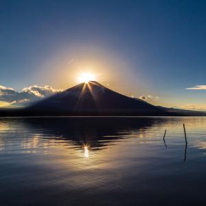 今日の山中湖の写真です