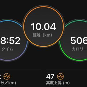 10km走