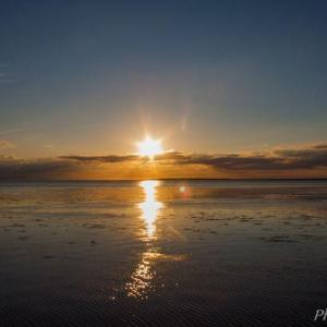 サロマ湖(5)Sunset 2