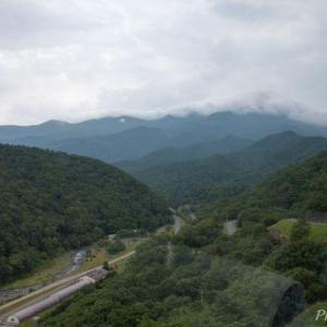 知床(7)カムイワッカ湯の滝1