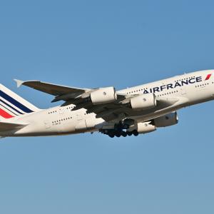 「懐かしいシリーズ」、今夜はエールフランスのAirbus A380-800でも、そして今日の三渓園の紅葉