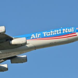 うちで過ごそう!◆今は見れないエア・タヒチ・ヌイのAirbus A340-300、そして白駒の森のチシマシッポゴケ