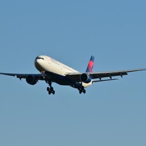 デルタ航空のAirbus A330-300が成田空港RWY34Lへ到着です。そして雲上の白駒池にて