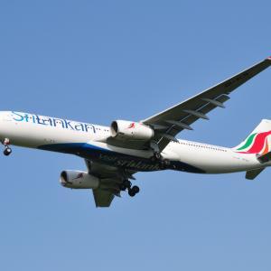 出戻りスリランカ航空のAirbus A330-300、そして素晴らしい沖縄今帰仁城跡