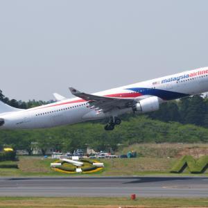 ちょっと懐かしいマレーシア航空のAirbus A330-300、そして白駒池もののけの森にて