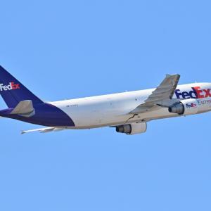 FedexのAirbus A300-600Fが出発しました~、そしてパラオで見つけたハイビスカス