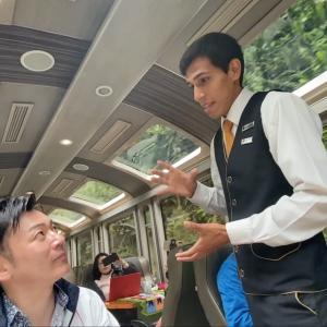 【動画】マチュピチュ列車のCAと会話せよ!