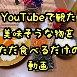 YouTubeで観た美味そうな物を、俺も食ってみただけの動画