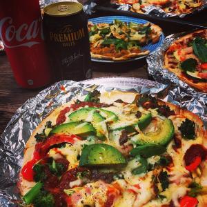 ピザ祭り!じいちゃんのさつまいもでスイートポテト