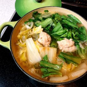 とろとろ白菜♪鶏団子スープ弁当