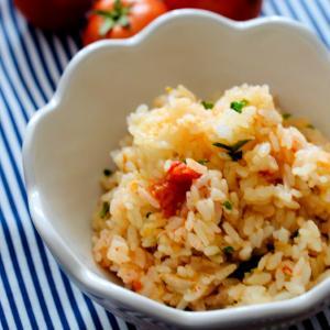 ツナとトマトの炊き込みご飯とトマト祭り