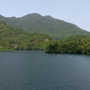 四国中央市金砂湖散歩